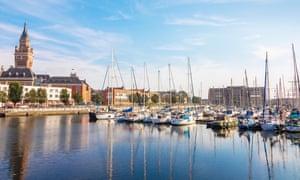 Yacht marina and quayside, Dunkirk, FrancePERE84 Yacht marina and quayside, Dunkirk, France