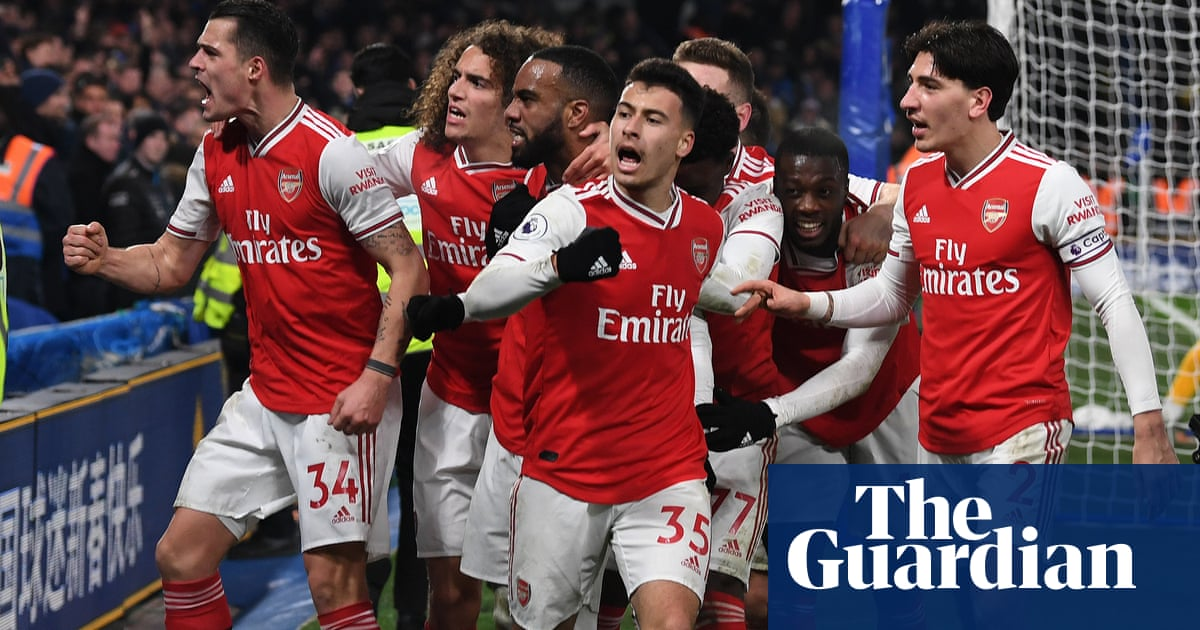 Arteta praises Arsenals spirit, fight and leadership after coming back to draw at Chelsea – video