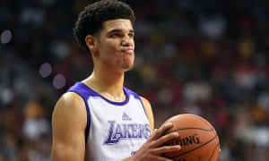 7b47f37da Lonzo Ball swaps Big Baller Brand for Nike – and scores 36 points ...