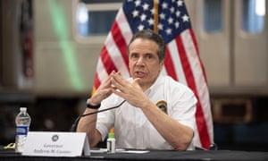 New York governor Andrew Cuomo holds coronavirus press briefing