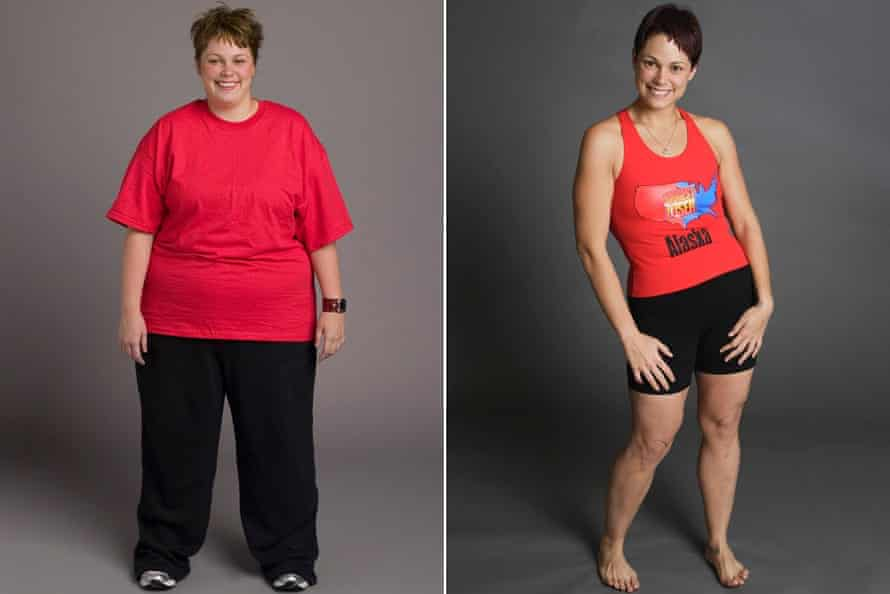 Kai Hibbard's before and after photo from The Biggest Loser, season three