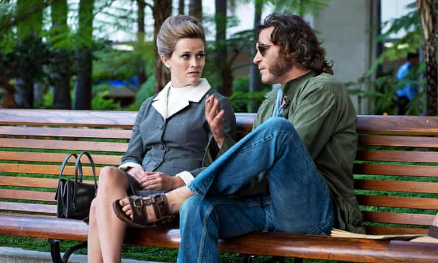 Strong storytelling … Reese Witherspoon and Joaquin Phoenix in the 2014 film adaptation of Inherent Vice.