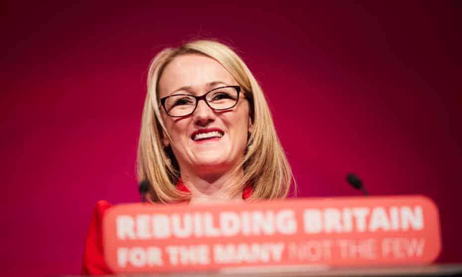 Rebecca Long-Bailey, the shadow business secretary.