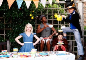 Sixteen Feet Productions will be staging Alice in Wonderland in several London parks