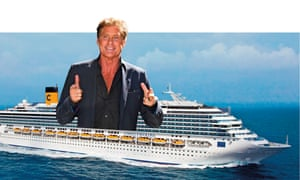 There's no getting away from it … the Hoff will be with you 'for the duration of the cruise'