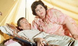 Kenneth Williams and Hattie Jacques
