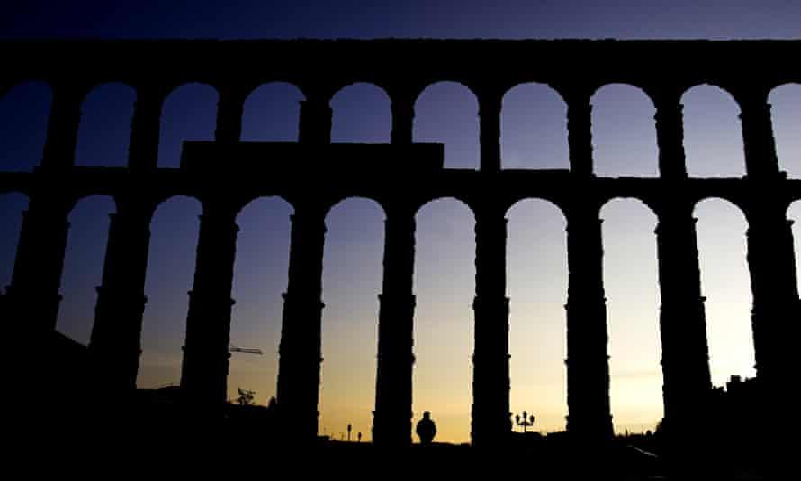 Segovia's 2,000-year-old Roman aqueduct.