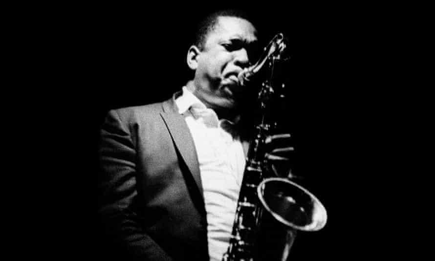 John Coltrane in Detroit in 1966.