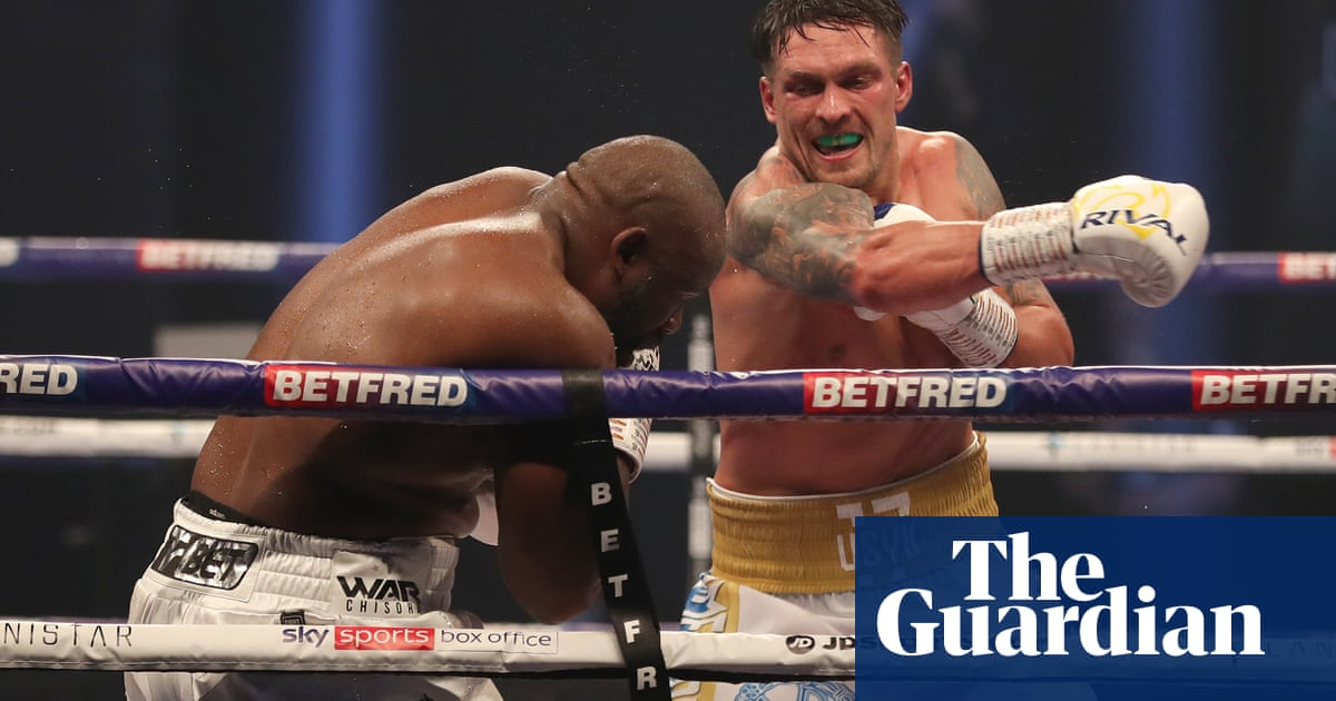 Oleksandr Usyk shows speed matters as much as size in boxing |  Jason Langendorf