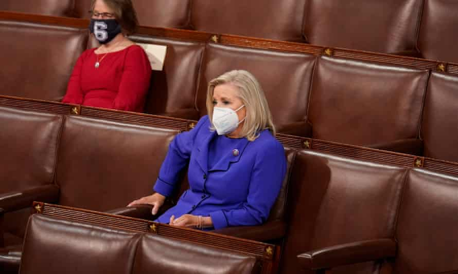 'If Cheney's Republican colleagues resent that her resolve makes them look like cowards by contrast, voting to retain her in her leadership post would be a small step in the direction of integrity.'