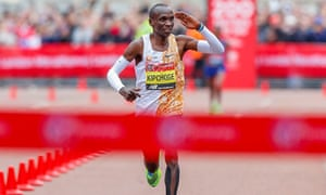 Eliud Kipchoge ran 2:02.37 at April's London Marathon and in 2017 managed 2:00.25 at Monza with pacers subbing in and out of the race.