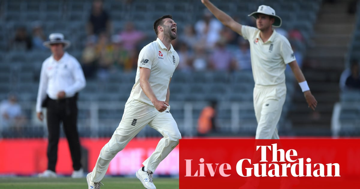 South Africa v England: fourth Test, day two – as it happened