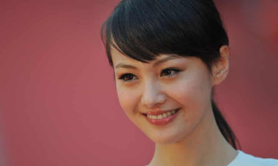 The Chinese actor Zheng Shuang