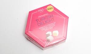 Marks & Spencer Rose & Lemon Turkish delight.