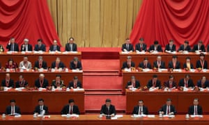 Xi Jinping delivers a speech to mark the 40th Anniversary of Reform and Opening Up in Beijing.