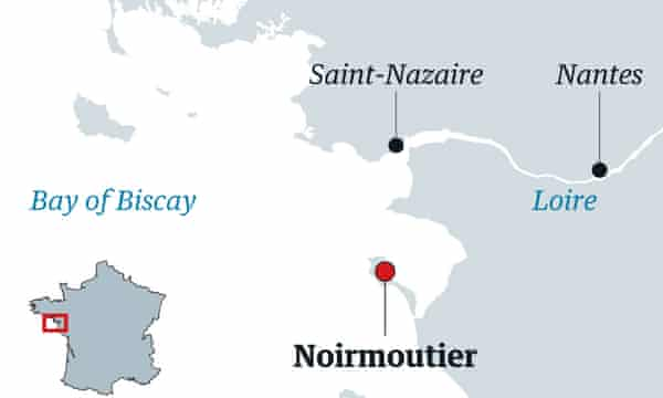Noirmoutier map