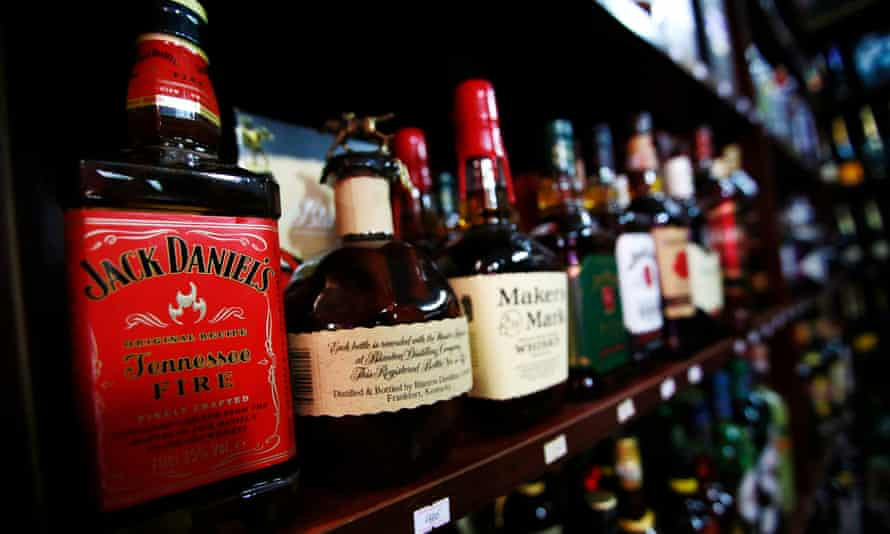 Big companies like Jack Daniel's are warning that prices to many of their overseas customers could rise by as much as 10% over the next few months.