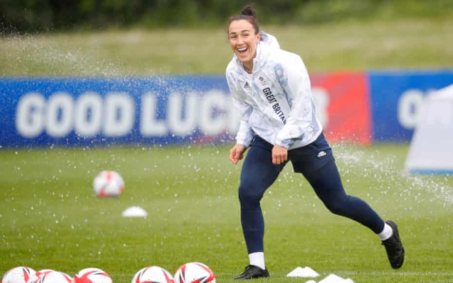 Lucy Bronze and the Team GB women's football squad are preparing to take on Chile on Wednesday.