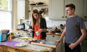 Niki Segnit teaching Tim Jonze how to cook without the aid of recipes.