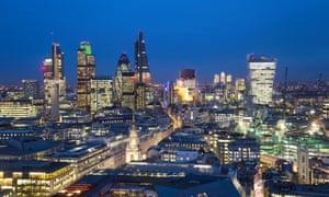 City of London skyline, London, England.