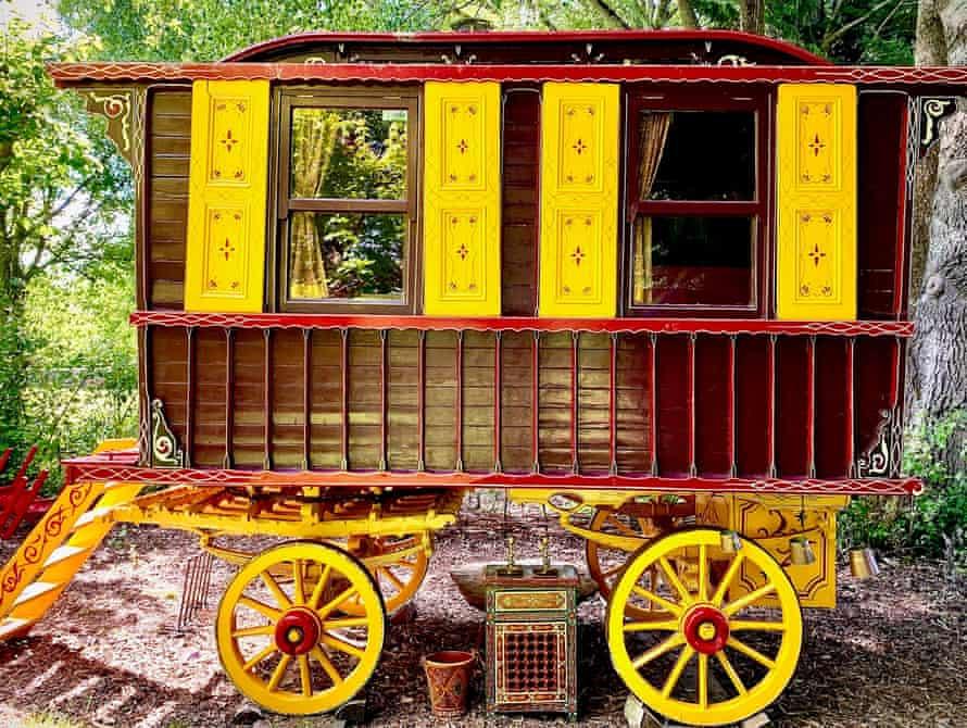 Wild Billy's, a traditional Gypsy caravan