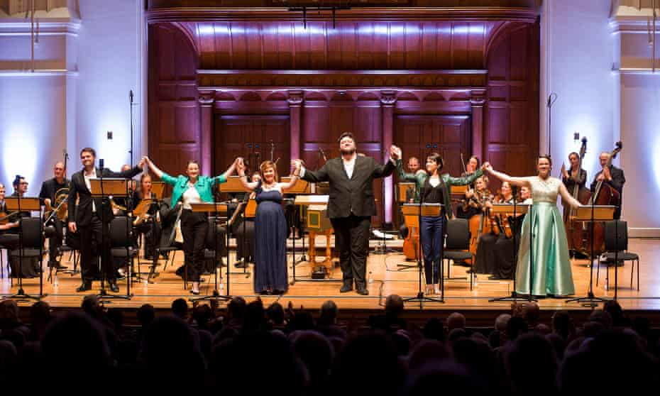 Ian Page and the Mozartists perform Il Vologeso