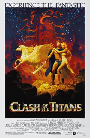 SFX Page 170: Clash of the Titans (1981) US One-sheet Teaser, art by Daniel Goozee