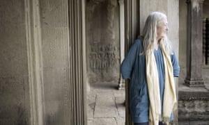 Mary Beard Angkor Wat in Cambodia.