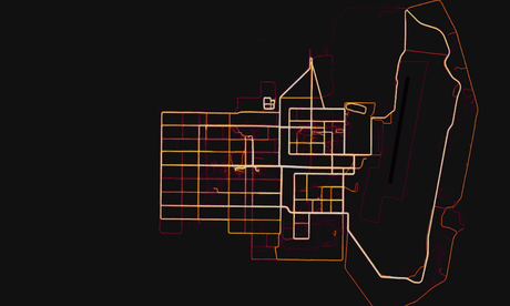Fitness tracking app Strava gives away location of secret US army bases