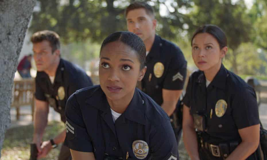 A still from The Rookie