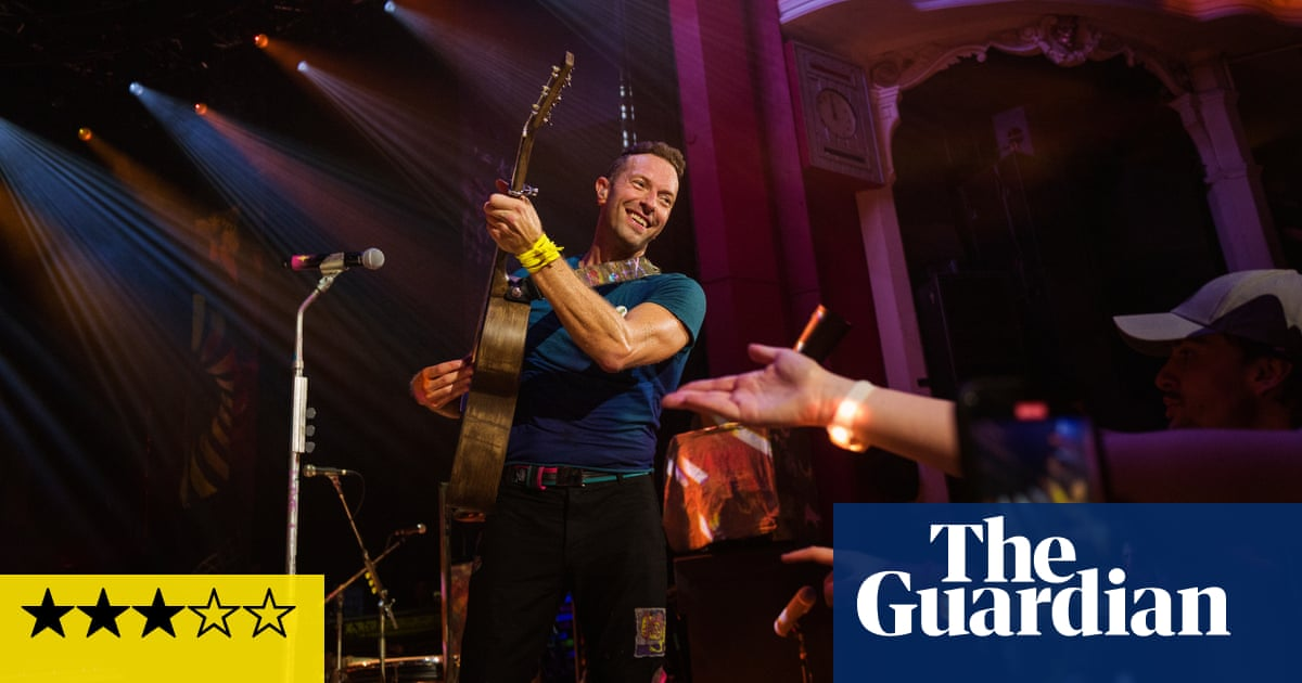 Coldplay review – stadium poppers take the big-time small scale