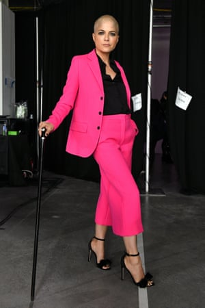 Actor Selma Blair backstage at the TIME 100 Health Summit in October this year.