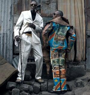 Look alive: sapeurs in Kinshasa, Democratic Republic of Congo.