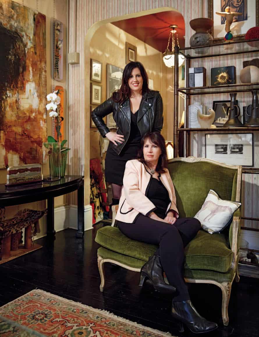 Indoor wonderland: Colleen Weinstein and her daughter Dahlia.