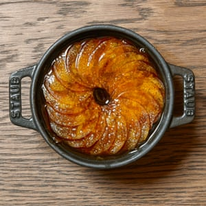The Bull & Bear's 'side of pommes boulangère (sliced spuds and onion baked in stock)'