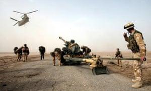 British soldiers in Iraq, 2003
