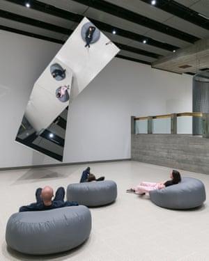 Jeppe Hein's 360° Illusion V, 2018