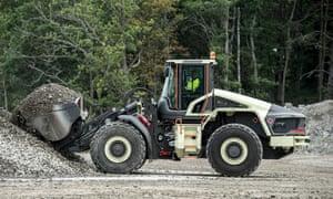 Volvo Construction Equipment's LX1 hybrid wheel loader prototype