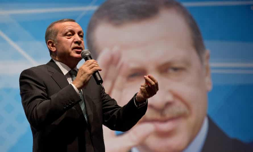 Amnesty international says its Turkey director has been detained amid an on-going state of emergency ordered by President Recep Tayyip Erdoğan, pictured.