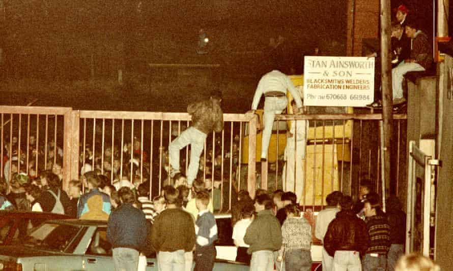 The December 1989 rave at Chadwick Street, Blackburn