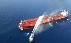 Washington has blamed recent attacks on oil tankers in the Gulf of Oman on Iran.