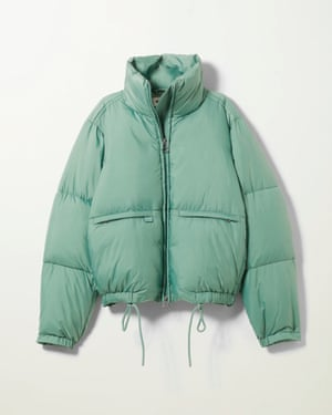 Recycled polyester, £70, weekday.com