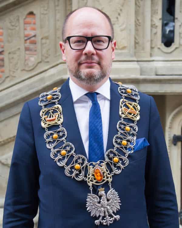 Pawel Adamowicz, the late mayor of Gdansk.