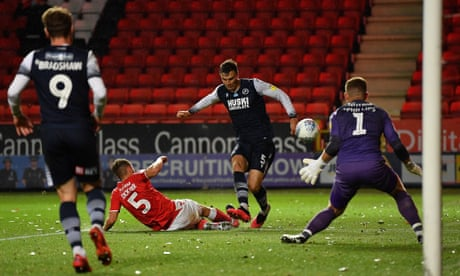 Jake Cooper cashes in on error to give Millwall victory at Charlton