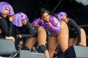 Lizzo and Co appear at West Holts.