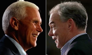 Both Mike Pence, a Christian evangelical, and Tim Kaine, a Catholic former missionary, are likely to emphasise their religious faith