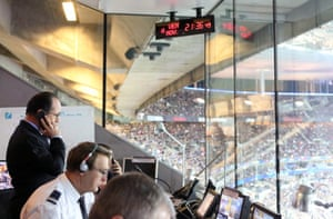Hollande at Stade de France at the moment of the attacks in Paris.