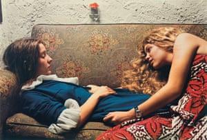 Untitled, 1974 (Karen Chatham, left, with the artist's cousin Lesa Aldridge, in Memphis, Tennessee)