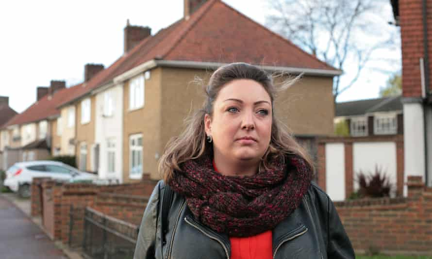 Resident turned playwright Christina Ford on the Becontree Estate in Dagenham.