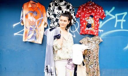 Melanie Lehmann, 24, sells clothes on Depop.